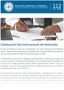 Boletín Federal Mensual