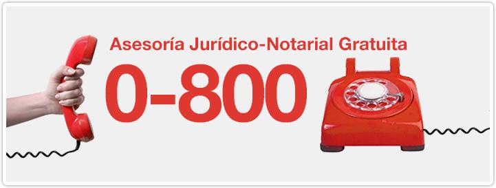 Banner Asesoria Notarial 0800 Permanente