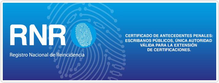 Certificados de Antecedentes Penales