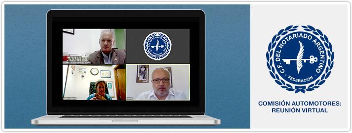 Comisión Automotores - Reunión Virtual