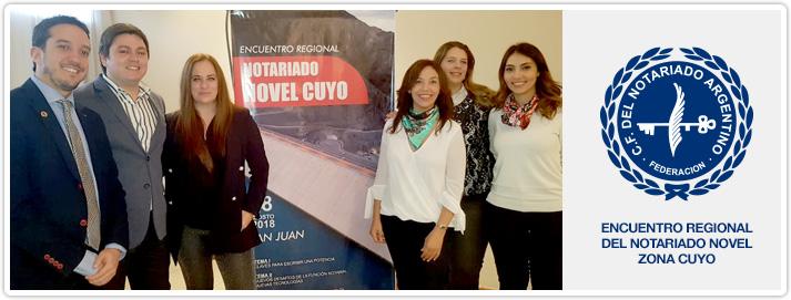 Encuentro Regional del Notariado Novel Zona Cuyo