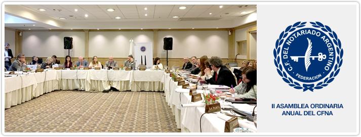II Asamblea Ordinaria CFNA