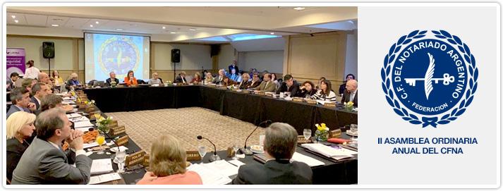II Asamblea Ordinaria Anual del CFNA - 2019
