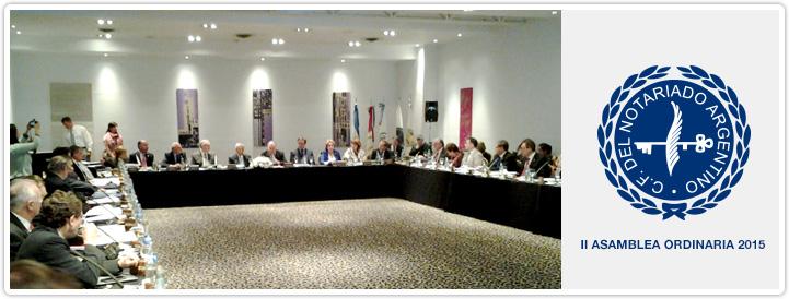 II Asamblea Ordinaria del CFNA - 2015.jpg