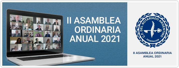 II Asamblea Ordinaria Anual 2021