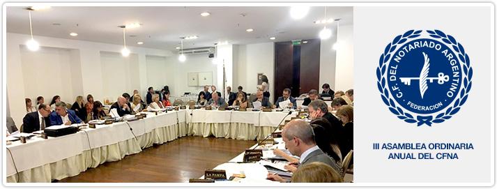 III Asamblea Ordinaria CFNA