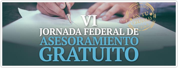 jornada federal asesoramiento gratuito 2018
