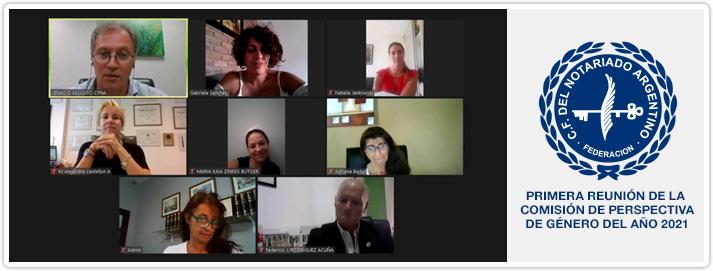 Primera Reunión de la Comisión de Perspectiva de Género del año 2021