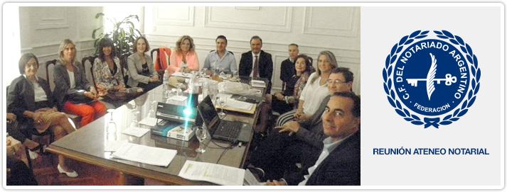 Reunión Ateneo Notarial