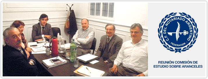 Reunión Comisión de Estudio sobre Aranceles