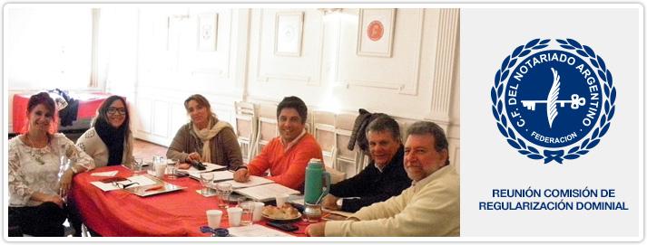 Reunión Comisión de Regularización Dominial