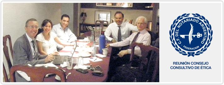 Reunión Consejo Consultivo de Ética