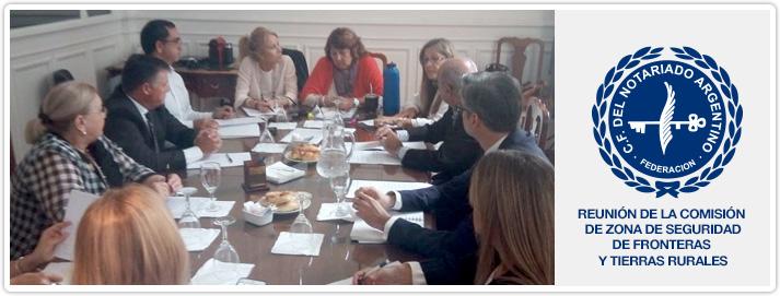Reunión de la Comisión de Zona de Seguridad de Fronteras y Tierras Rurales