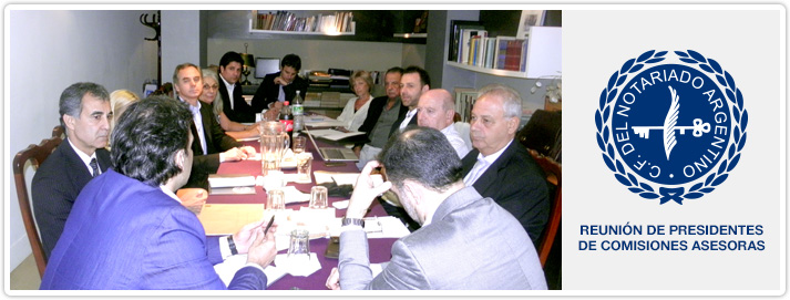 Reunión de presidentes de comisiones asesoras