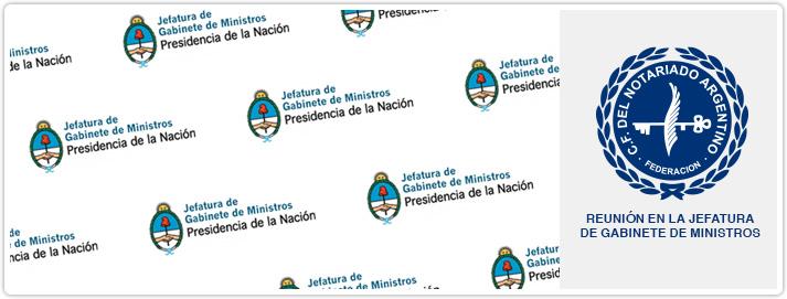 Reunión en la Jefatura de Gabinete de Ministros