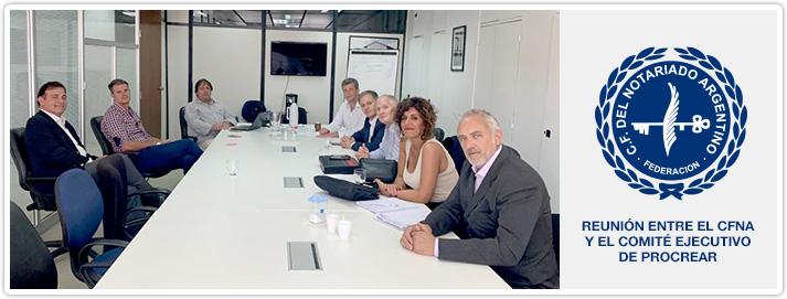 Reunión entre el CFNA y el Comité Ejecutivo de PROCREAR