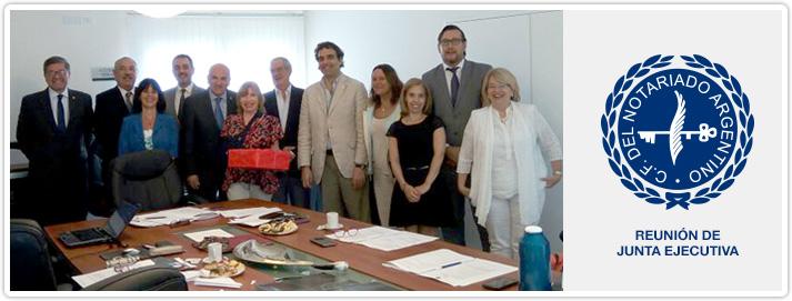 Reunión de Junta Ejecutiva del CFNA
