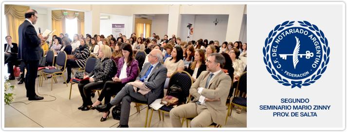 Segundo Seminario Mario Zinny - Provincia de Salta