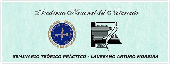 Banner Seminario Teórico-Práctico Laureano Arturo Moreira