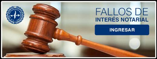 Fallos de Interés Notarial