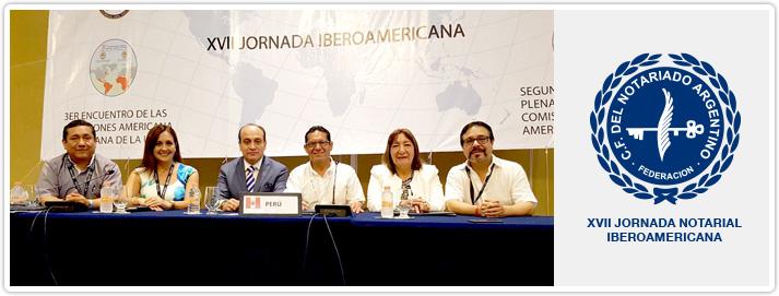 XVII Jornada Notarial Iberoamericana