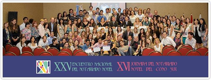 XXV Encuentro Nacional del Notariado Novel