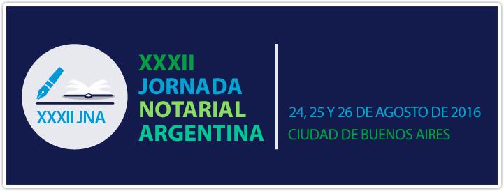 XXXII Jornada Notarial Argentina