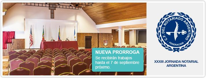 XXXIII Jornada Notarial Argentina 2018