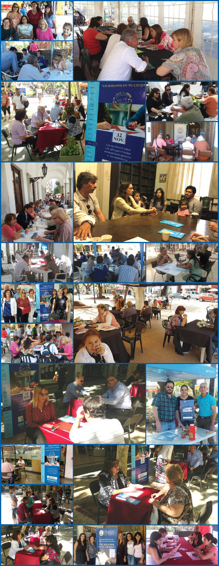 collage jornada federal asesoramiento gratuito 2016
