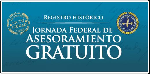 Registro Fotográfico Historico - Jornada Federal de Asesoramiento Gratuito